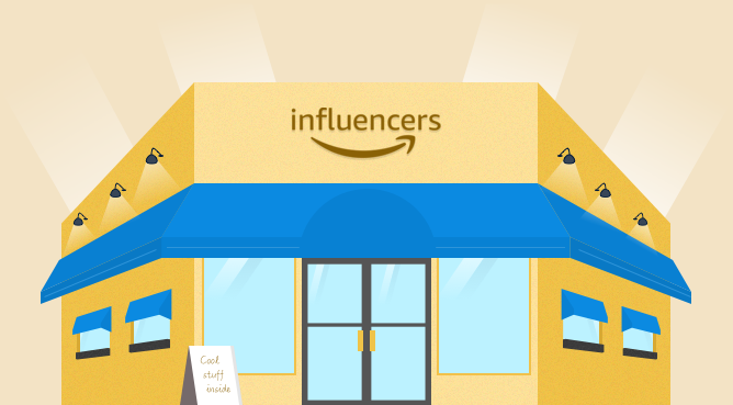 Amazon Influencer Storefront